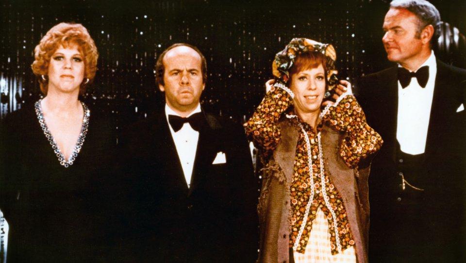 Carol burnett curtain