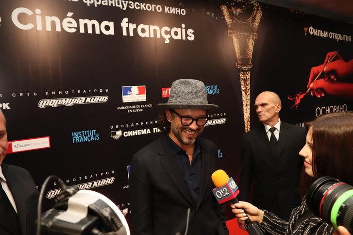 Венсан Перес открыл в Москве V фестиваль французского кино «Le Cinema