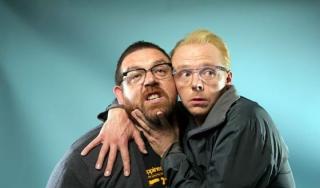 Саймон Пегг и Ник Фрост работают над новым комедийном сериалом