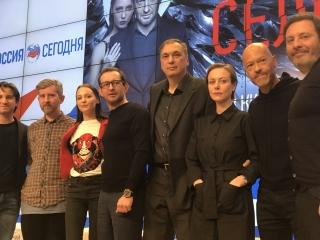 «Селфи» с Константином Хабенским показали в Москве