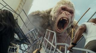 Создатели «Рэмпейджа» записывали настоящих горилл для озвучки