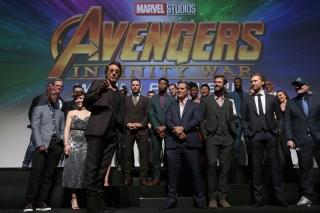 «Мстители: Война бесконечности» - звездная премьера в Лос-Анджелесе. Фото