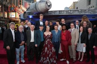 «Хан Соло: Звездные войны. Истории»: голливудская премьера. Фото