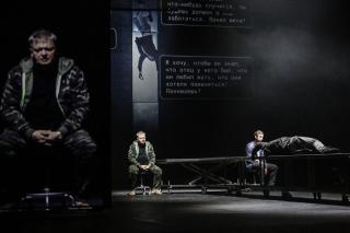 «Текст»: спектакль в жанре кибернуар на сцене театра Ермоловой