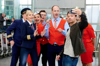 В Санкт-Петербурге начали снимать второй сезон «Улетного экипажа»