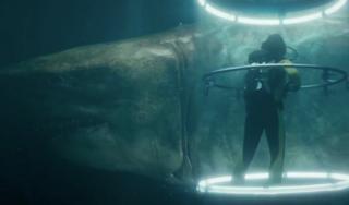 Два новых тизера хоррор-боевика «Мег: Монстр глубины»